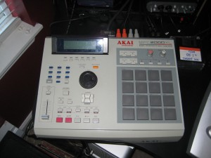Tyler Smith&#039;s Akai MPC 2000xl